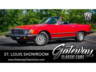1985 Mercedes-Benz 380SL (CC-1439183) for sale in O'Fallon, Illinois