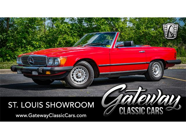 1985 Mercedes-Benz 380SL (CC-1439183) for sale in O'Fallon, Illinois