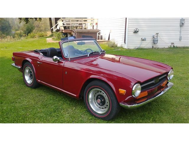 1972 Triumph TR6 (CC-1439255) for sale in Sundre, Alberta