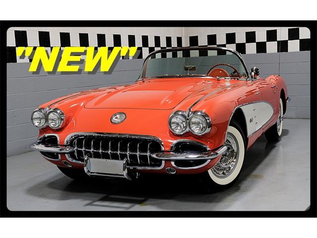 1958 Chevrolet Corvette (CC-1439262) for sale in Old Forge, Pennsylvania