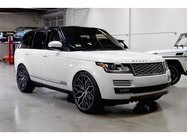 2016 Land Rover Range Rover (CC-1439417) for sale in San Carlos, California