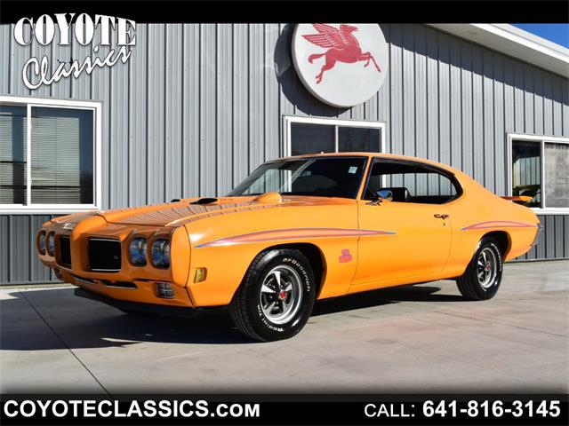 1970 Pontiac GTO (The Judge) (CC-1439445) for sale in Greene, Iowa