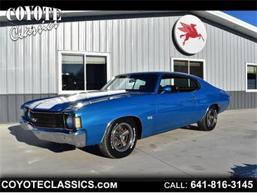1972 Chevrolet Chevelle Malibu SS (CC-1439451) for sale in Greene, Iowa