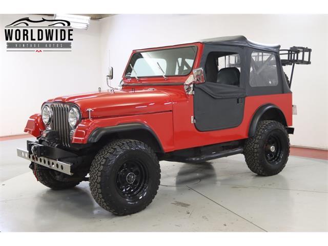 1985 Jeep CJ (CC-1439552) for sale in Denver , Colorado