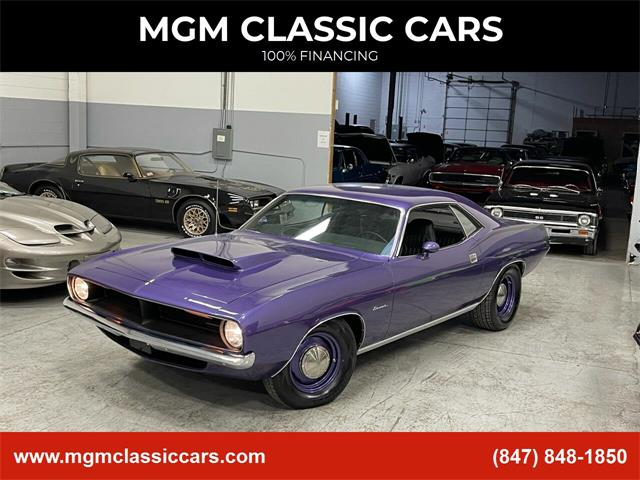 1970 Plymouth Barracuda (CC-1439600) for sale in Addison, Illinois