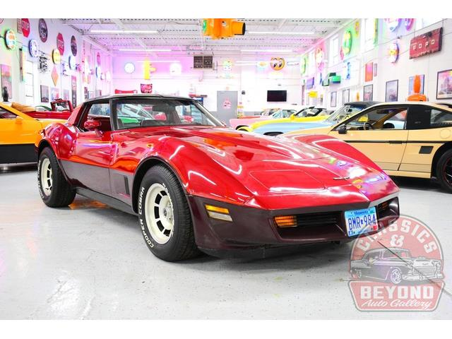 1981 Chevrolet Corvette (CC-1439613) for sale in Wayne, Michigan