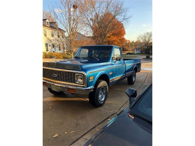 1972 Chevrolet K-10 (CC-1439653) for sale in Cadillac, Michigan
