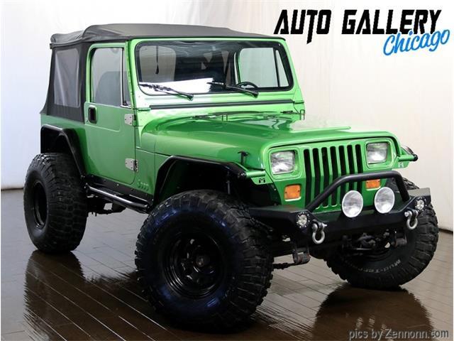 1987 Jeep Wrangler (CC-1439659) for sale in Addison, Illinois