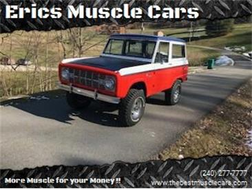 1970 Ford Bronco (CC-1439920) for sale in Clarksburg, Maryland