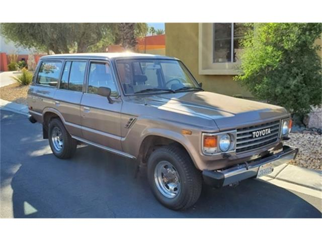 1986 Toyota Land Cruiser FJ (CC-1439986) for sale in Palm Springs, California