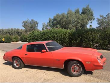 1978 Chevrolet Camaro (CC-1439987) for sale in Palm Springs, California