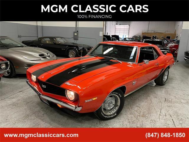 1969 Chevrolet Camaro (CC-1441001) for sale in Addison, Illinois