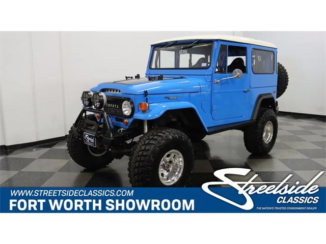 1968 Toyota Land Cruiser FJ40 (CC-1440102) for sale in Ft Worth, Texas