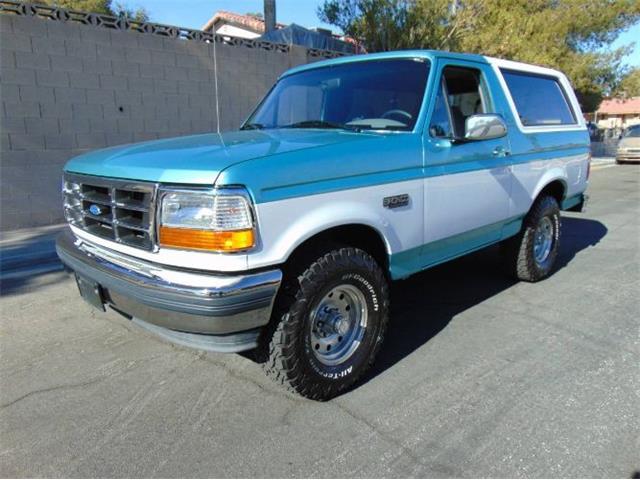 1995 Ford Bronco (CC-1441034) for sale in Cadillac, Michigan