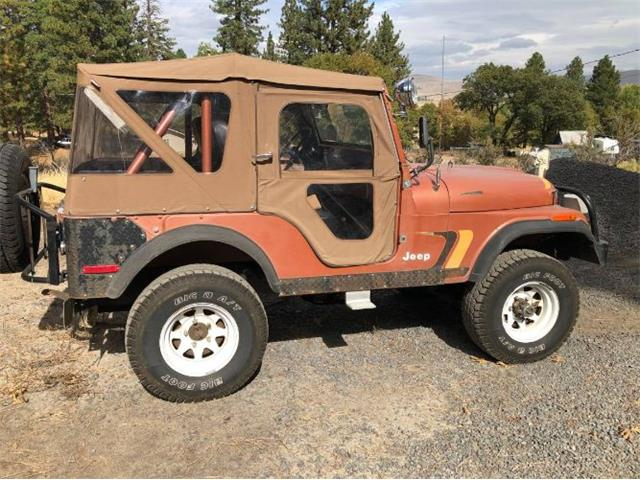 1975 Jeep CJ5 (CC-1441075) for sale in Cadillac, Michigan