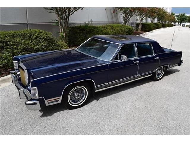 1979 Lincoln Continental (CC-1441110) for sale in Point Roberts, Washington