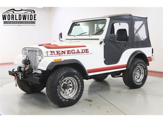 1976 Jeep CJ (CC-1440112) for sale in Denver , Colorado