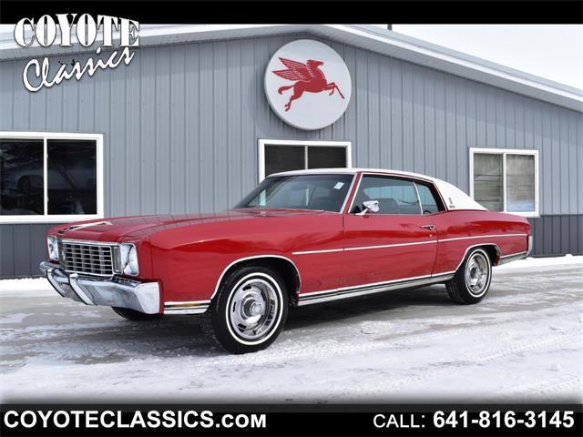 1972 Chevrolet Monte Carlo (CC-1441122) for sale in Greene, Iowa