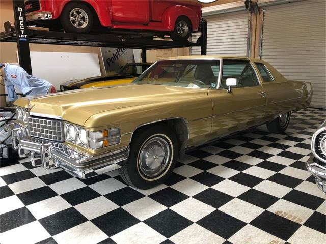 1974 Cadillac Coupe DeVille (CC-1441161) for sale in Lakeland, Florida