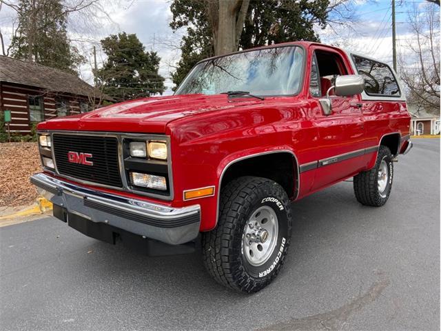 1990 GMC Jimmy (CC-1441304) for sale in Greensboro, North Carolina