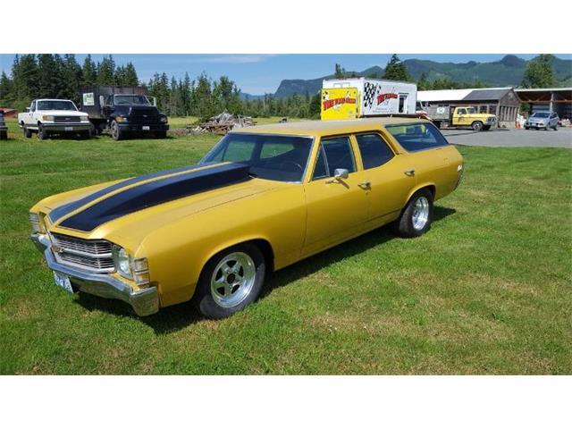 1971 Chevrolet Chevelle (CC-1441330) for sale in Cadillac, Michigan