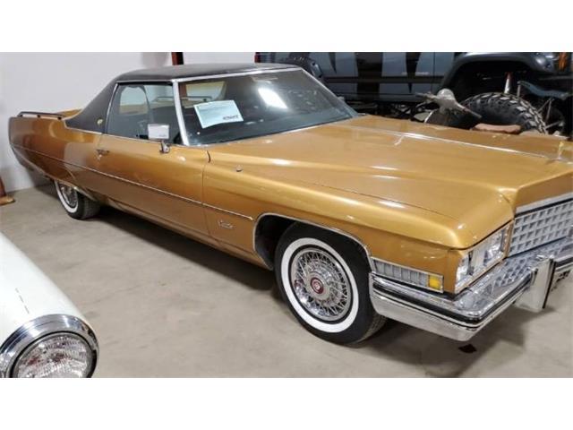 1973 Cadillac 4-Dr Sedan (CC-1441356) for sale in Cadillac, Michigan