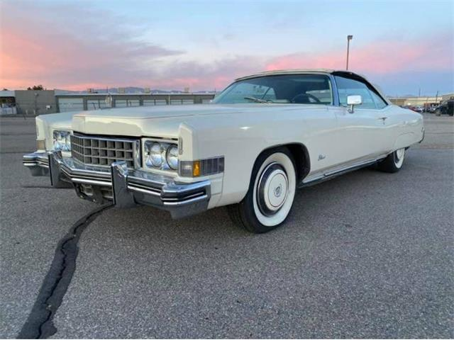 1973 Cadillac Eldorado (CC-1441367) for sale in Cadillac, Michigan
