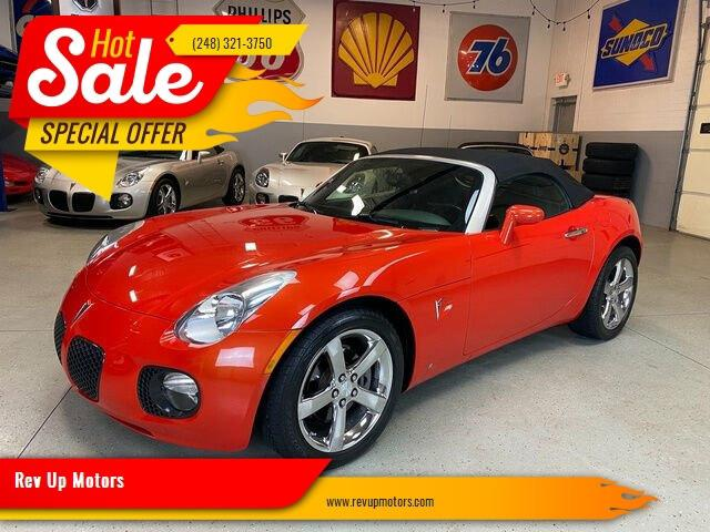 2008 Pontiac Solstice (CC-1441459) for sale in Shelby Township, Michigan