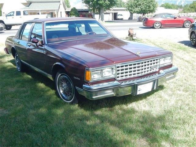 1983 Chevrolet Caprice (CC-1441592) for sale in Cadillac, Michigan