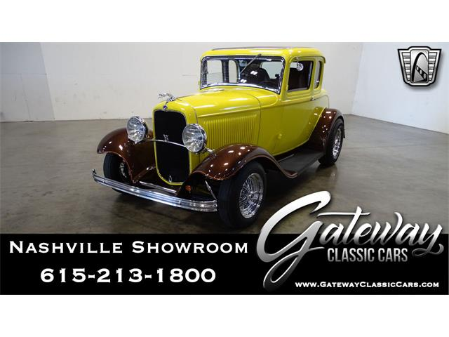 1932 Ford 5-Window Coupe (CC-1441690) for sale in O'Fallon, Illinois
