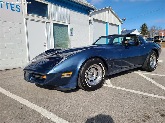 1981 Chevrolet Corvette (CC-1441721) for sale in martinsburg, Pennsylvania