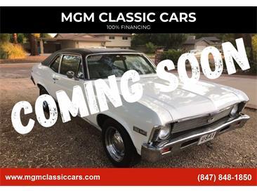 1968 Chevrolet Nova (CC-1440188) for sale in Addison, Illinois