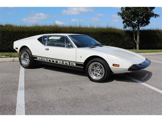 1973 De Tomaso Pantera (CC-1440190) for sale in Sarasota, Florida