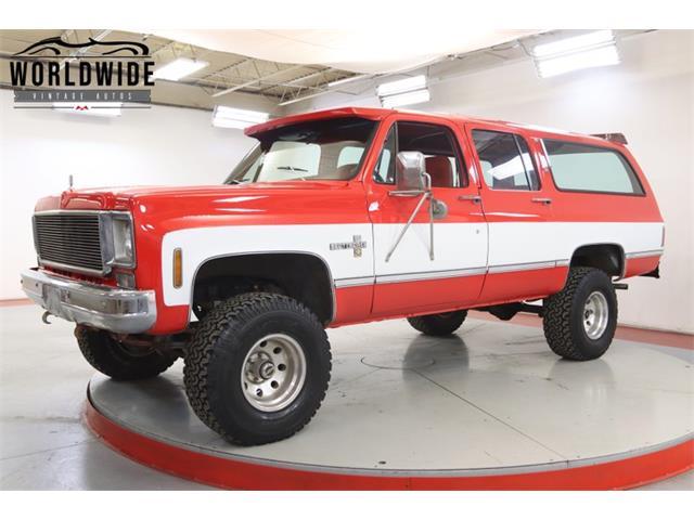 1976 Chevrolet Suburban (CC-1441908) for sale in Denver , Colorado