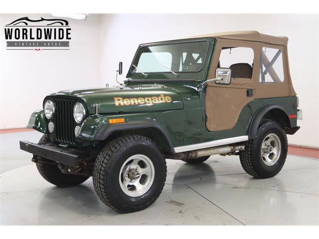 1978 Jeep CJ (CC-1441911) for sale in Denver , Colorado