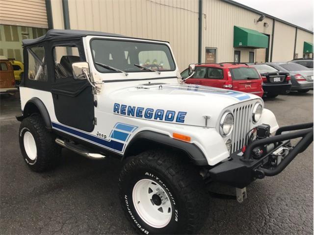 1983 Jeep Wrangler (CC-1441954) for sale in Greensboro, North Carolina