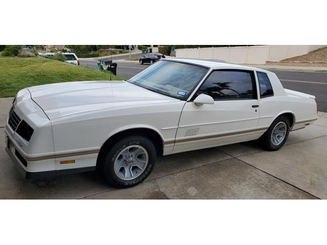 1987 Chevrolet Monte Carlo SS (CC-1440002) for sale in Palm Springs, California