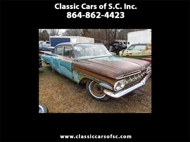 1959 Chevrolet Biscayne (CC-1442001) for sale in Gray Court, South Carolina