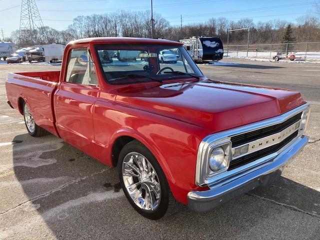 1969 Chevrolet C10 (CC-1442087) for sale in ROMEO, Michigan