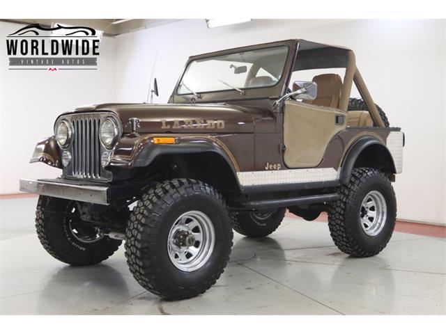 1980 Jeep CJ (CC-1442136) for sale in Denver , Colorado