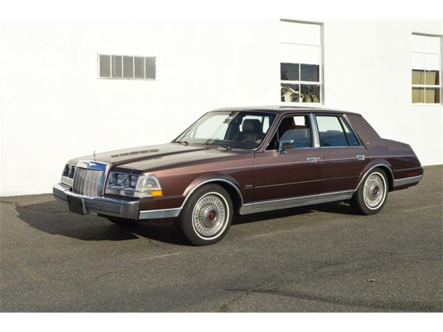 1987 Lincoln Continental (CC-1442236) for sale in Springfield, Massachusetts