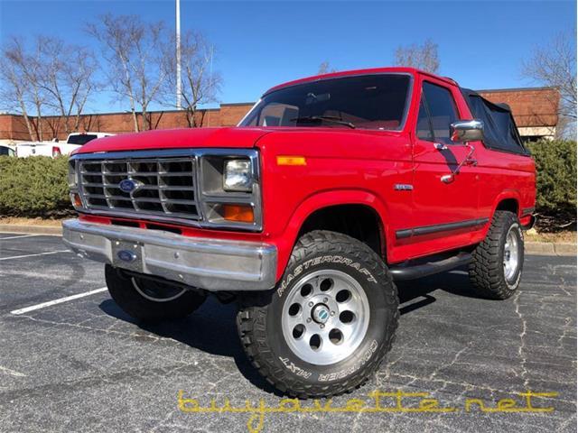1985 Ford Bronco (CC-1442419) for sale in Atlanta, Georgia