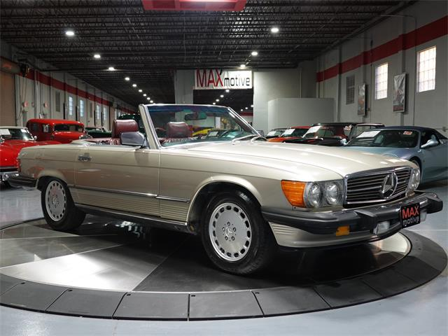 1986 Mercedes-Benz 560SL (CC-1442463) for sale in Pittsburgh, Pennsylvania