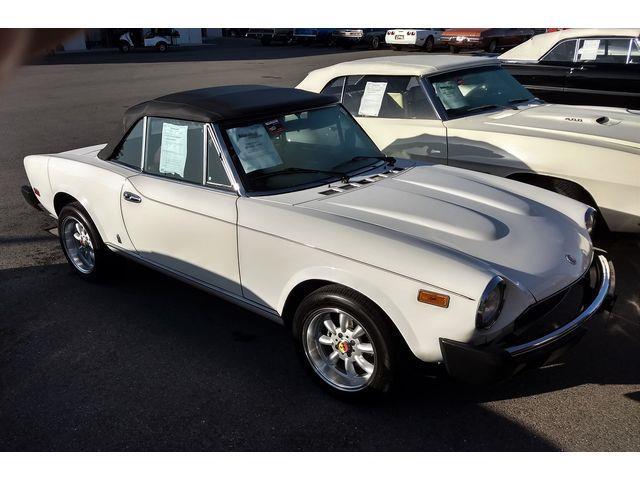 1980 Fiat Spider (CC-1440248) for sale in Lakeland, Florida