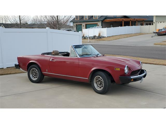 1975 Fiat Spider 1800 (CC-1442515) for sale in Great Falls, Montana