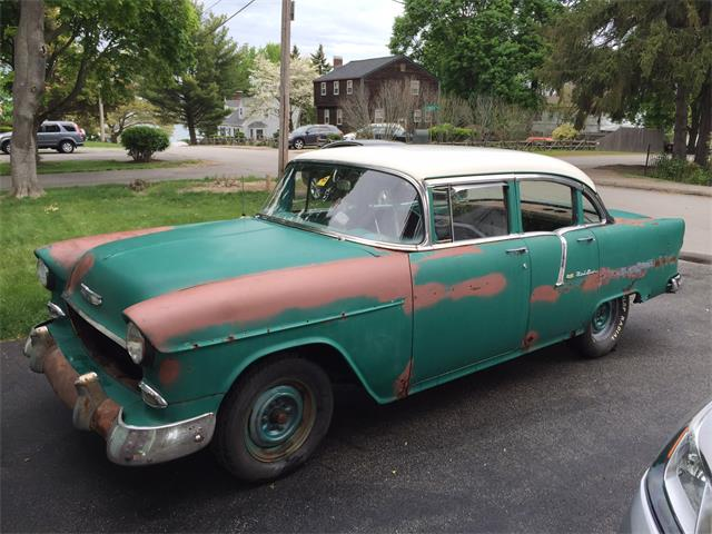 1955 Chevrolet Bel Air (CC-1442775) for sale in Weymouth , Massachusetts