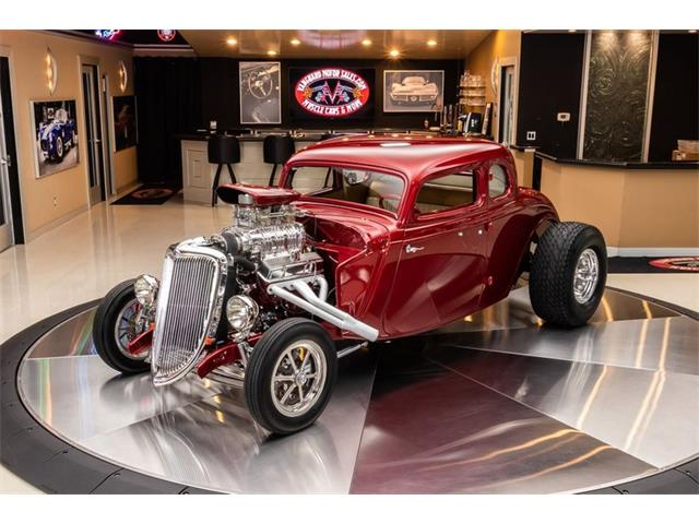 1934 Ford 5-Window Coupe (CC-1442873) for sale in Plymouth, Michigan