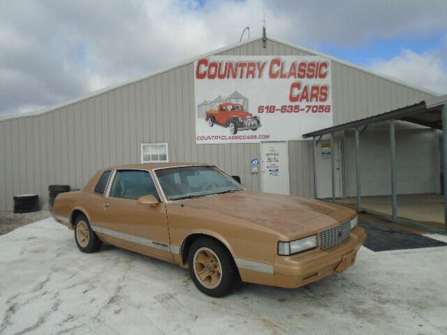 1986 Chevrolet Monte Carlo (CC-1442880) for sale in Staunton, Illinois
