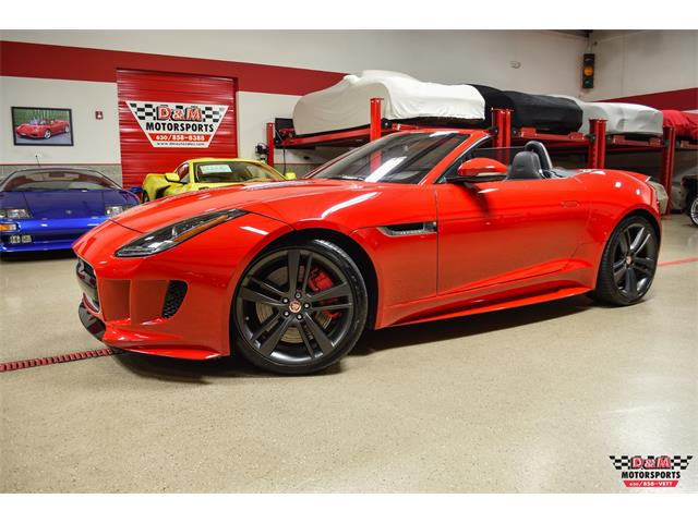 2017 Jaguar F-Type (CC-1443019) for sale in Glen Ellyn, Illinois
