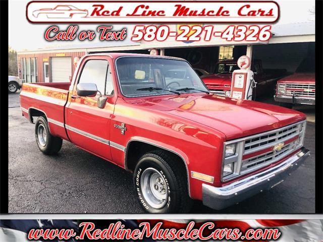 1985 Chevrolet C/K 10 (CC-1443068) for sale in Wilson, Oklahoma